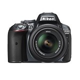NIKON D5300 Kit VR - Black (Merchant) - Camera Slr