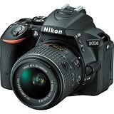 NIKON D5500 Kit VR - Black (Merchant) - Camera Slr