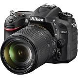 NIKON D7200 Kit VR - Black - Camera SLR