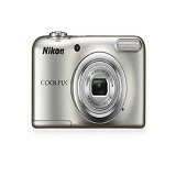 NIKON Digital Camera Coolpix A10 - Silver (Merchant) - Camera Pocket / Point and Shot