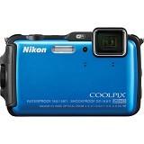 NIKON Digital Camera Coolpix AW120 - Blue - Camera Underwater