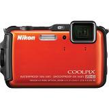 NIKON Digital Camera Coolpix AW120 - Orange - Camera Underwater