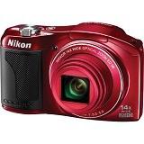 NIKON Digital Camera Coolpix L610 - Red - Camera Pocket / Point and Shot