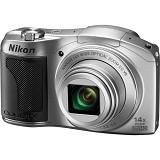 NIKON Digital Camera Coolpix L610 - Silver - Camera Pocket / Point and Shot