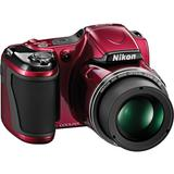 NIKON Digital Camera Coolpix L820 - Red - Camera Prosumer