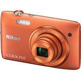NIKON Digital Camera Coolpix S3500 - Orange - Camera Pocket / Point and Shot