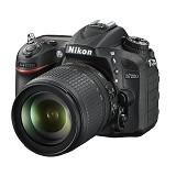 NIKON D7200 Kit2 VR - Black - Camera SLR