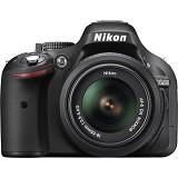 NIKON D5200 Kit  - Black - Camera SLR