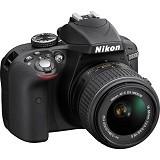 NIKON D3300 Kit VR - Black - Camera SLR