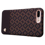 NILLKIN Oger Lattice Leather Coated Hard Case Apple iPhone 7 Plus (Merchant) - Casing Handphone / Case