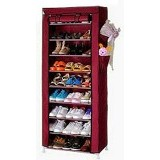 NINE BOX Multifunction Shoe Rack With Dust Cover [SR-S9] - Rak Sepatu