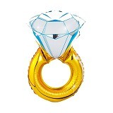 NNPARTYDREAMS Balon Foil Cincin (Merchant) - Balon