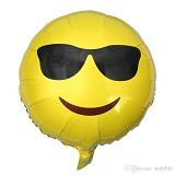 NNPARTYDREAMS Balon Foil Emoticon (Merchant) - Balon