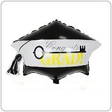 NNPARTYDREAMS Balon Foil Wisuda Toga (Merchant) - Balon