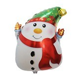 NNPARTYDREAMS Balon Snowman (Merchant) - Balon