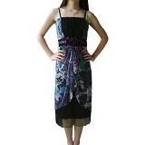 NOCHI SHOP Gaun Pesta Sweet Dress Semi Gown All Size [D1334] - Purple - Midi Dress Wanita