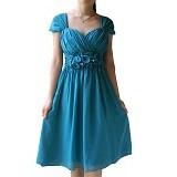 NOCHI SHOP Gaun Pesta Premium Size S/M [D1392] - Tosca - Midi Dress Wanita