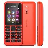 NOKIA 130 Dual - Red - Handphone GSM