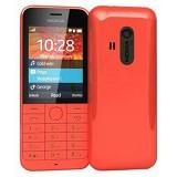 NOKIA Asha 220 - Red - Handphone GSM