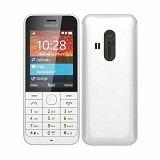 NOKIA Asha 220 - White - Handphone GSM