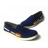 NOPE Draco Size 42 [1401] - Navy - Loafer Dan Slip On Pria