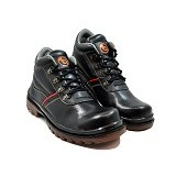 NOPE Safety Xeon Size 41 [6661] - Black - Casual Boots Pria