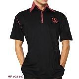 NOPE USA MADE Kaos Kerah Atasan Pria Size L [MP002] - Black - Kaos Pria