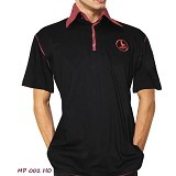 NOPE USA MADE Kaos Kerah Atasan Pria Size M [MP002] - Black - Kaos Pria