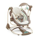 NUNA ConvertMe Swing 2 Seat Sahara Burst [60100] (Merchant) - Baby Highchair and Booster Seat