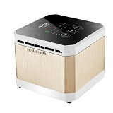 NUOBIO Home and Office Mini Air Purifier J003 [UAHBD46] - Gold - Air Purifier