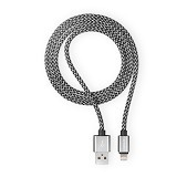 Necular Almunium Alloy Android Cable - White (Merchant) - Cable / Connector Usb