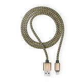 Necular Almunium Alloy iPhone Cable - Gold (Merchant) - Cable / Connector Usb