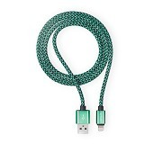 Necular Almunium Alloy iPhone Cable - Green (Merchant) - Cable / Connector Usb