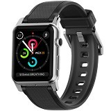 Nomad Silicone Strap for Apple Watch 42 mm - Silver Hardware (Merchant) - Casing Smartwatch / Case