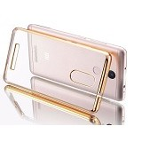 NuC Redmi Note 3 Pro TPU Shinning Chrome Case - Gold (Merchant) - Casing Handphone / Case