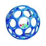 OBALL Rattle [81031-BL] - Blue - Balls, Fribees, and Boomerangs