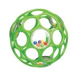 OBALL Rattle [81031-GR] - Green - Balls, Fribees, and Boomerangs