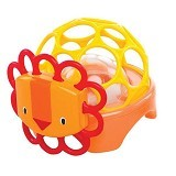 OBALL Rollie Rattle Lion [OB 81517] (Merchant) - Rattle