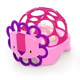 OBALL Rollie Rattles Lion - Pink [OB 81550] (Merchant) - Rattle