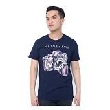 OBLONGKU T Shirt Inside of Me Size M [008-TS.002] - Navy - Kaos Pria