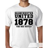 OCEAN SEVEN Man United Years 2 T Shirt Size L - Kaos Pria