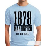 OCEAN SEVEN Man United Years  T Shirt Size S - Kaos Pria