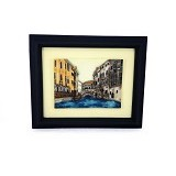 OHOME Decor Venice River 3D Picture Frame [SP3621] (Merchant) - Photo Display / Frame
