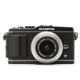 OLYMPUS Digital Camera E-P3 Single Kit - Black (Merchant) - Camera Mirrorless