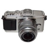 OLYMPUS Digital Camera E-P3 Single Kit - Silver (Merchant) - Camera Mirrorless