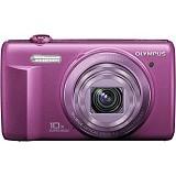 OLYMPUS Digital Camera VR-350 - Purple - Camera Pocket / Point and Shot