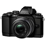 OLYMPUS OM-D E-M10 Kit - Black - Camera Mirrorless