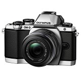 OLYMPUS OM-D E-M10 Kit - Silver - Camera Mirrorless
