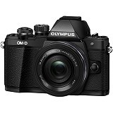 OLYMPUS OM-D E-M10 Kit2 - Black - Camera Mirrorless