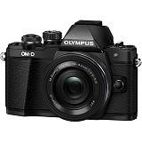 OLYMPUS OM-D E-M10 Kit2 - Black - Camera Mirrorless
